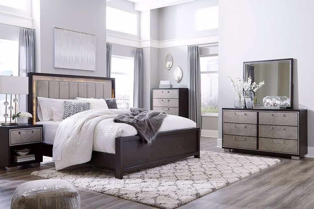 Picture of Maretto King Panel Bedroom Set