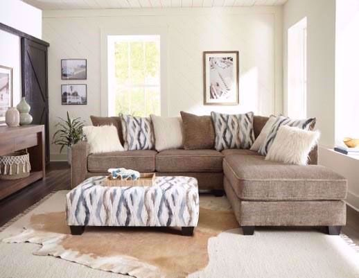 Picture of Zaftig Taupe Two Piece Sectional