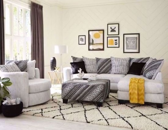 Picture of Berber Cream Two Piece Sectional