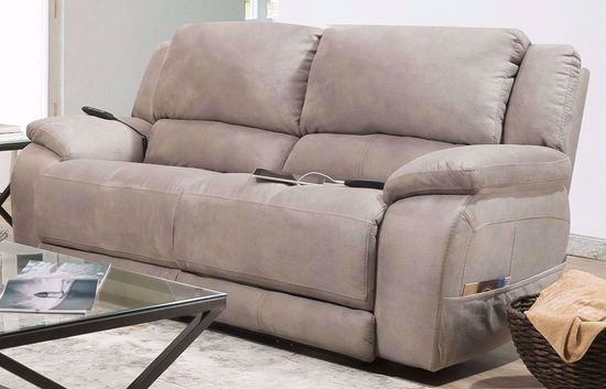 Picture of Explorer Nickle Power Reclining Sofa