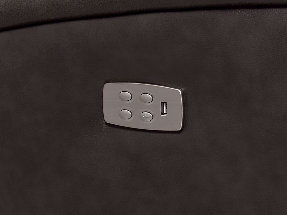 Picture of Tango Gray 5-Piece Power Headrest Sectional