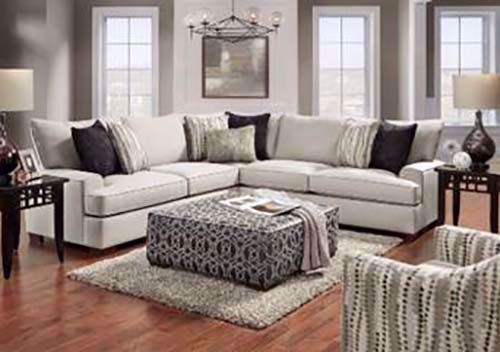 Picture of Florence Mica 3-Piece Sectional