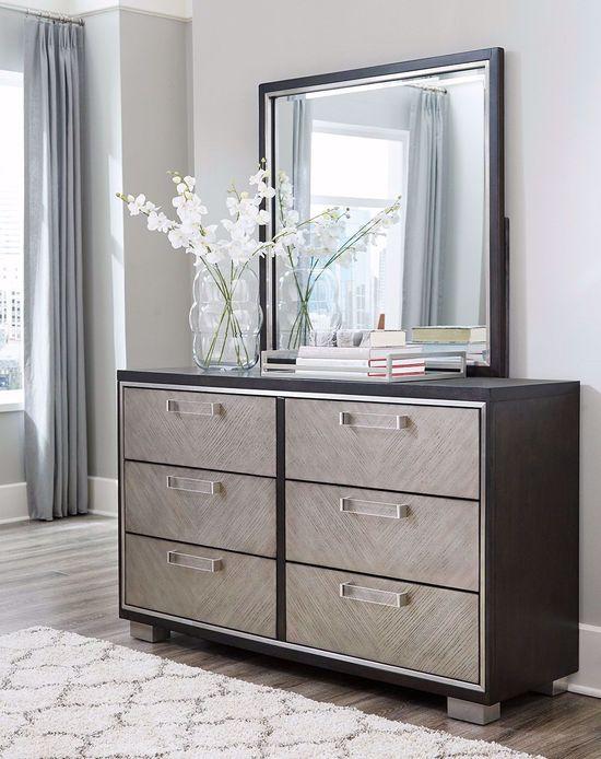 Picture of Maretto Dresser and Mirror Set