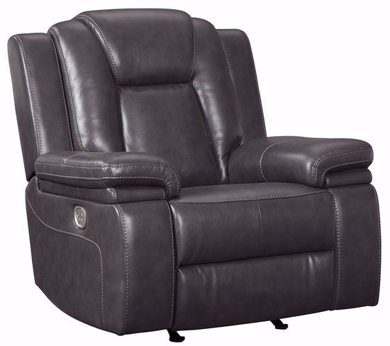 Picture of Garristown Gray Brown Power Recliner