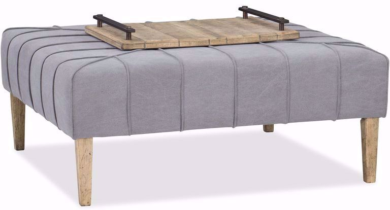 Picture of Urban Elevation Square Ottoman Cocktail Table