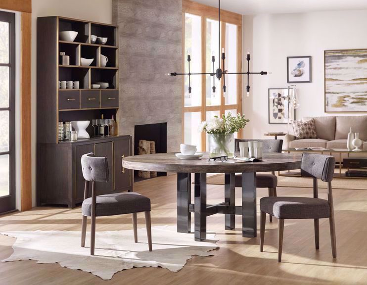 Picture of Curata Round Dining Table and Four Chairs