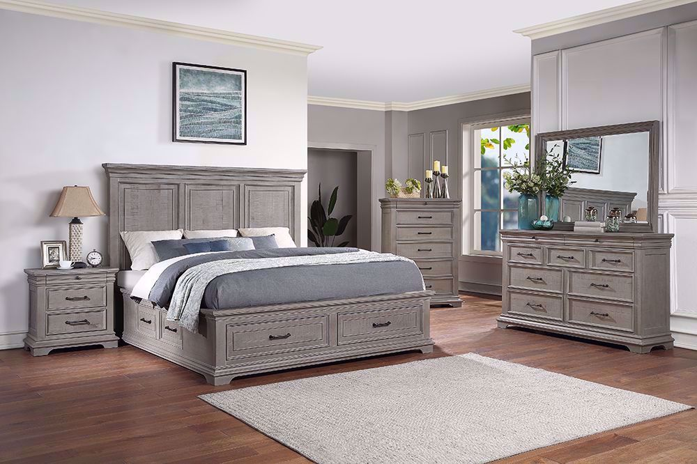 Picture of London King Storage Bedroom Set