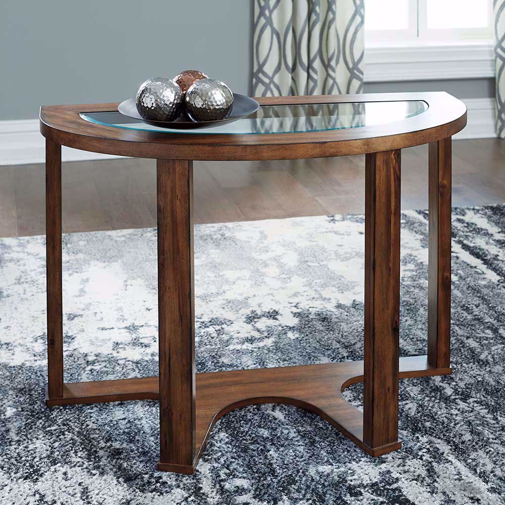 Picture of Hannery Brown Sofa Table