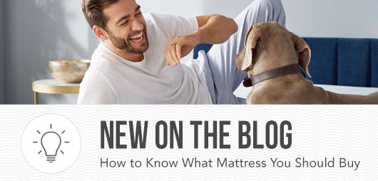 New on the Blog | How to Know What Mattress You Should Buy
