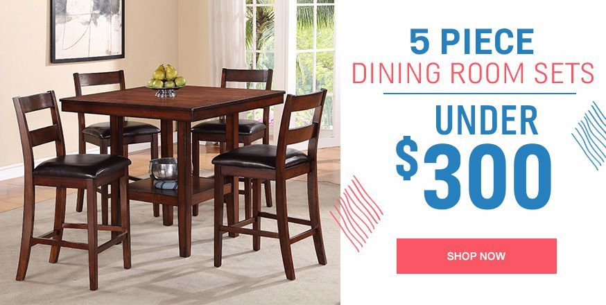 5 Piece Dining Room Sets Under $300