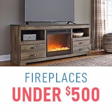 Fireplaces Under $500