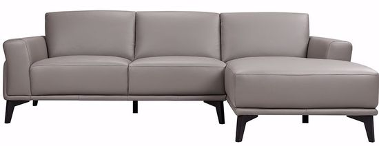 Picture of Lucca Grey Two Piece Sectional