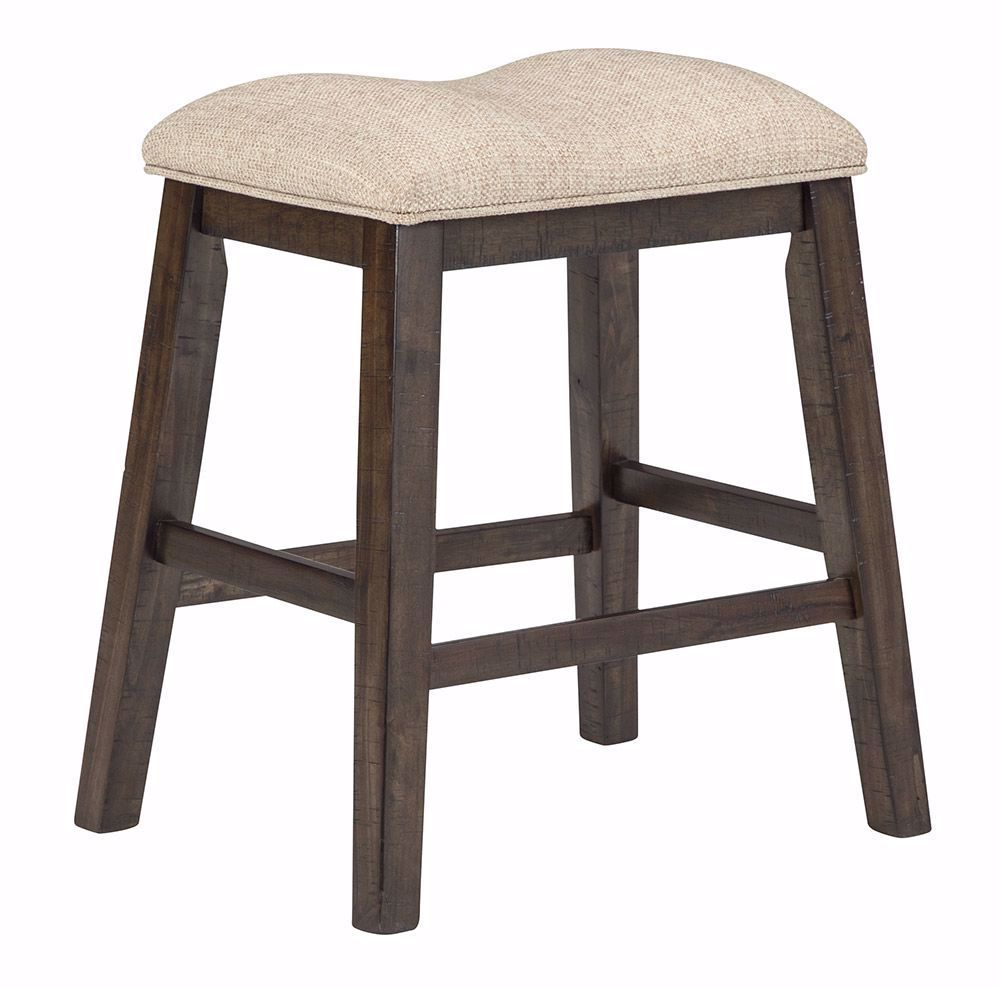 Picture of Rokane Upholstered Backless Counter Stool