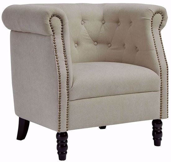 Picture of Jacquelyn Natural Accent Chair