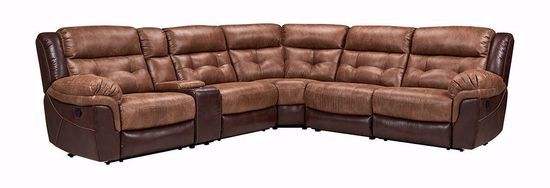 Picture of Jay Bonanza 6-Piece Reclining Sectional