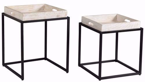 Picture of Merrimach Two Piece Nesting Tables