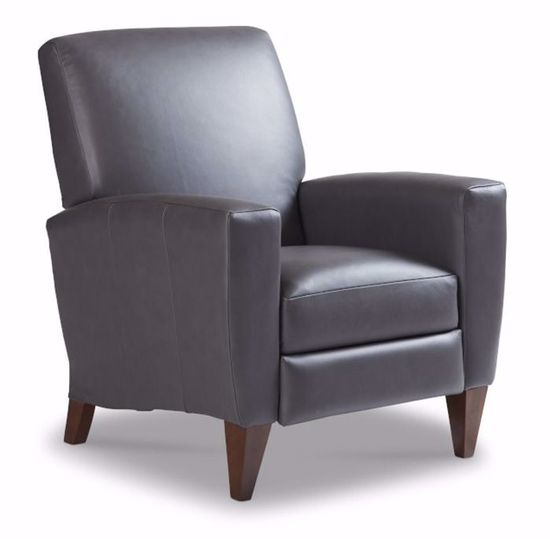 Picture of Scarlett Grey High Leg Recliner