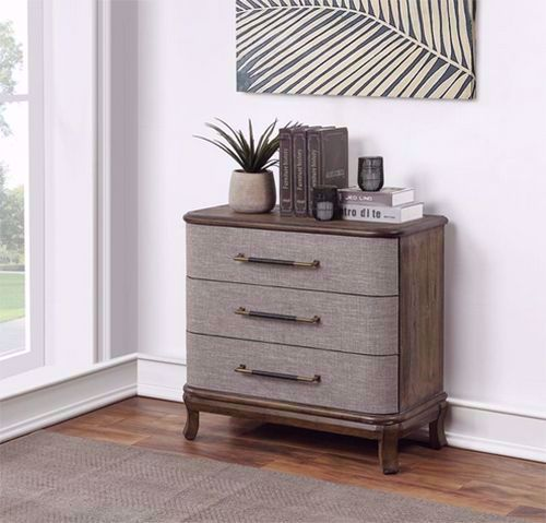 Picture of Bradenton Brown Three Drawer Chest