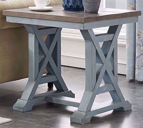 Picture of Bar Harbor Trestle End Table