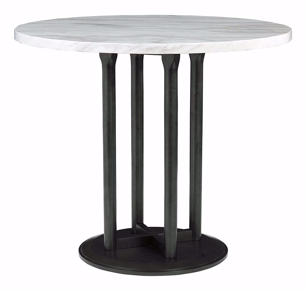 "Picture of Centiar 42"" Round Pedestal Counter Table"