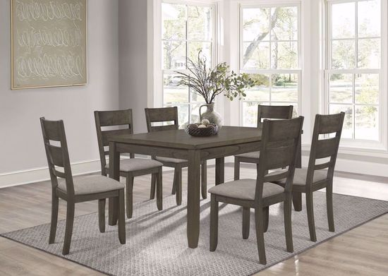 Picture of Solvang Two Drawer Table and Six Chairs