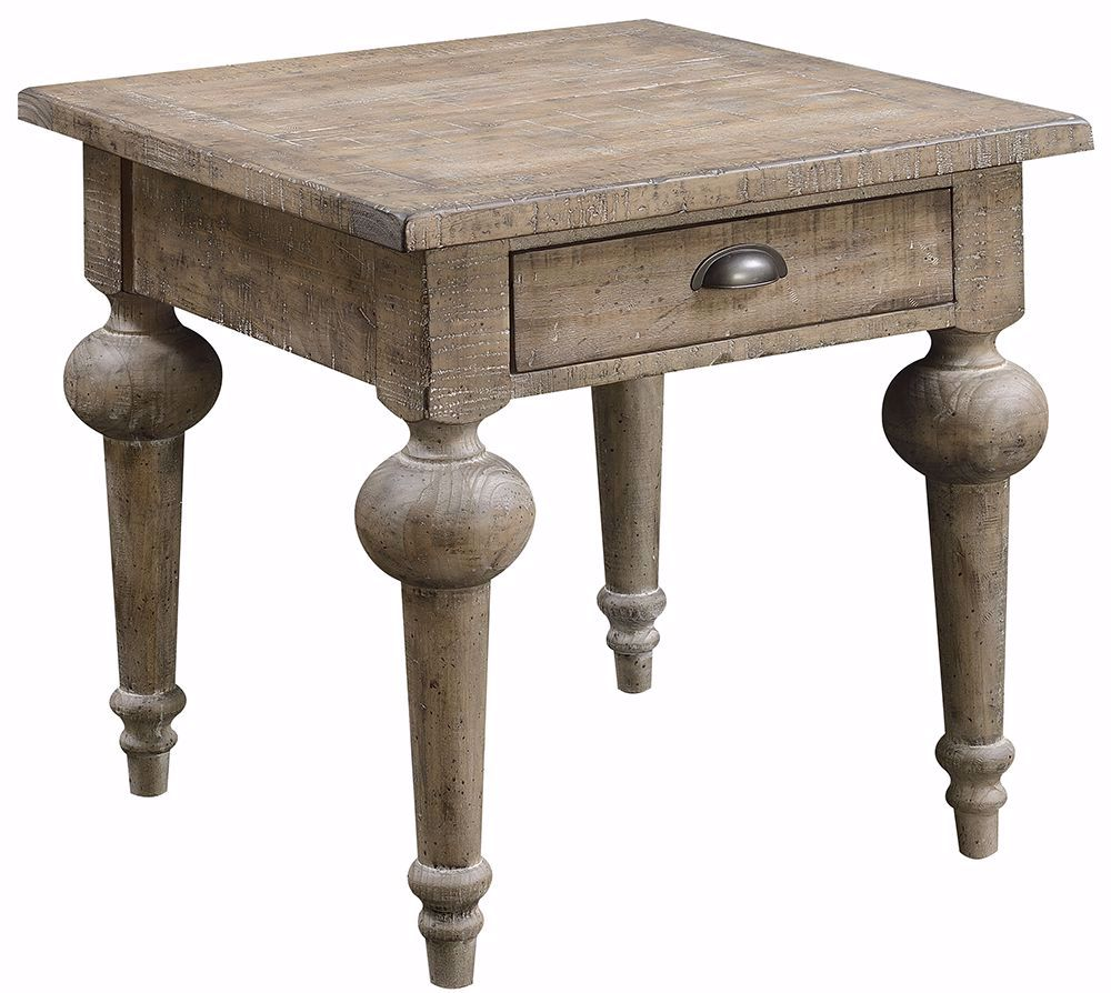 Picture of Interlude Gray End Table