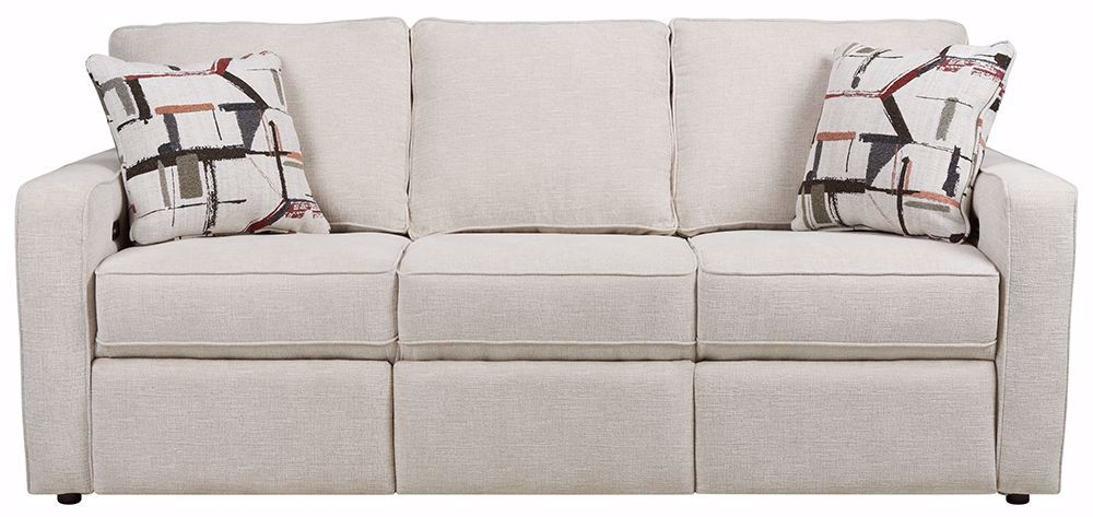 Picture of Scholar Ecru Power Reclining Sofa