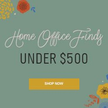 Home Office Finds under $500
