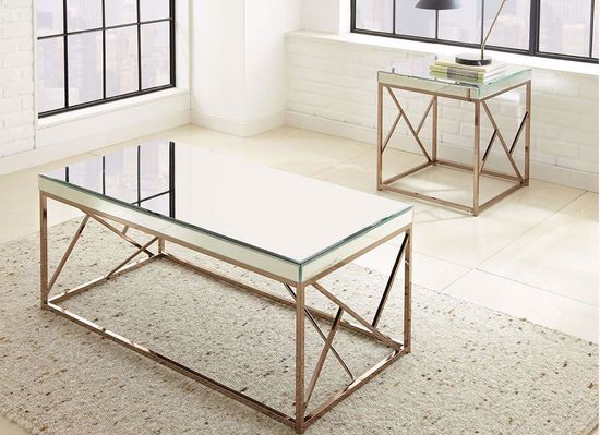 Picture of Evelyn Mirror Top End Table