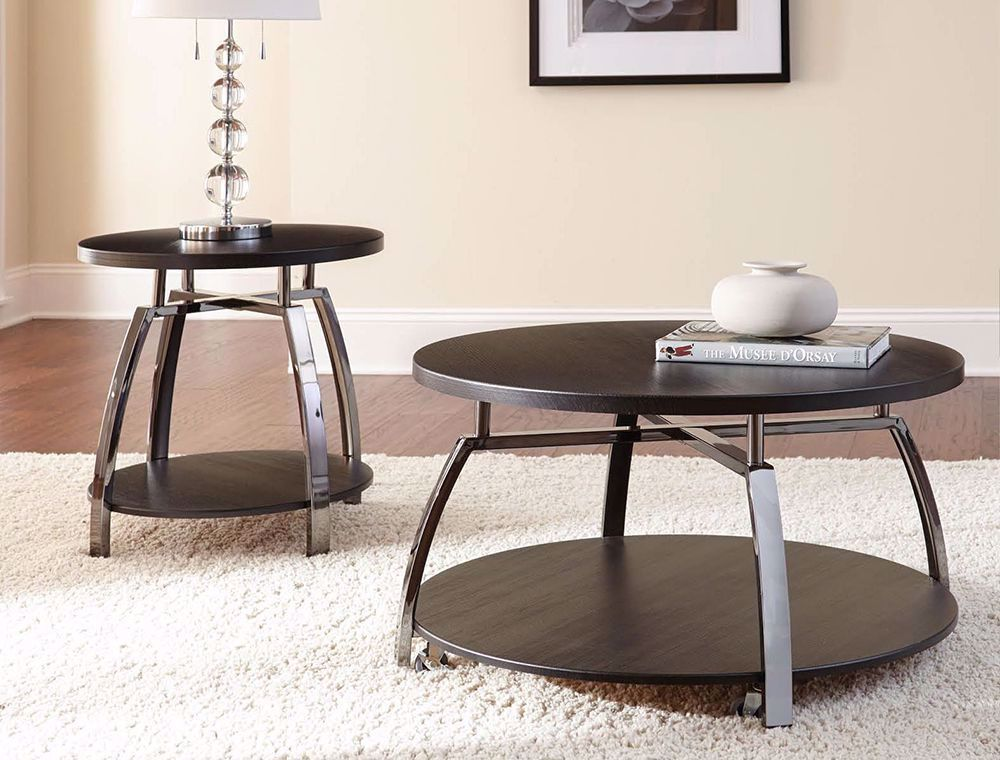 Picture of Coham Round Cocktail Table