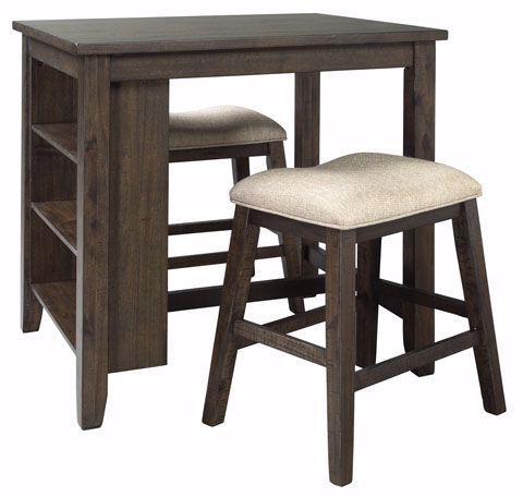 Picture of Rokane Counter Table & 2 Stools