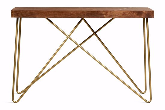 Picture of Walter Brass Inlay Sofa Table