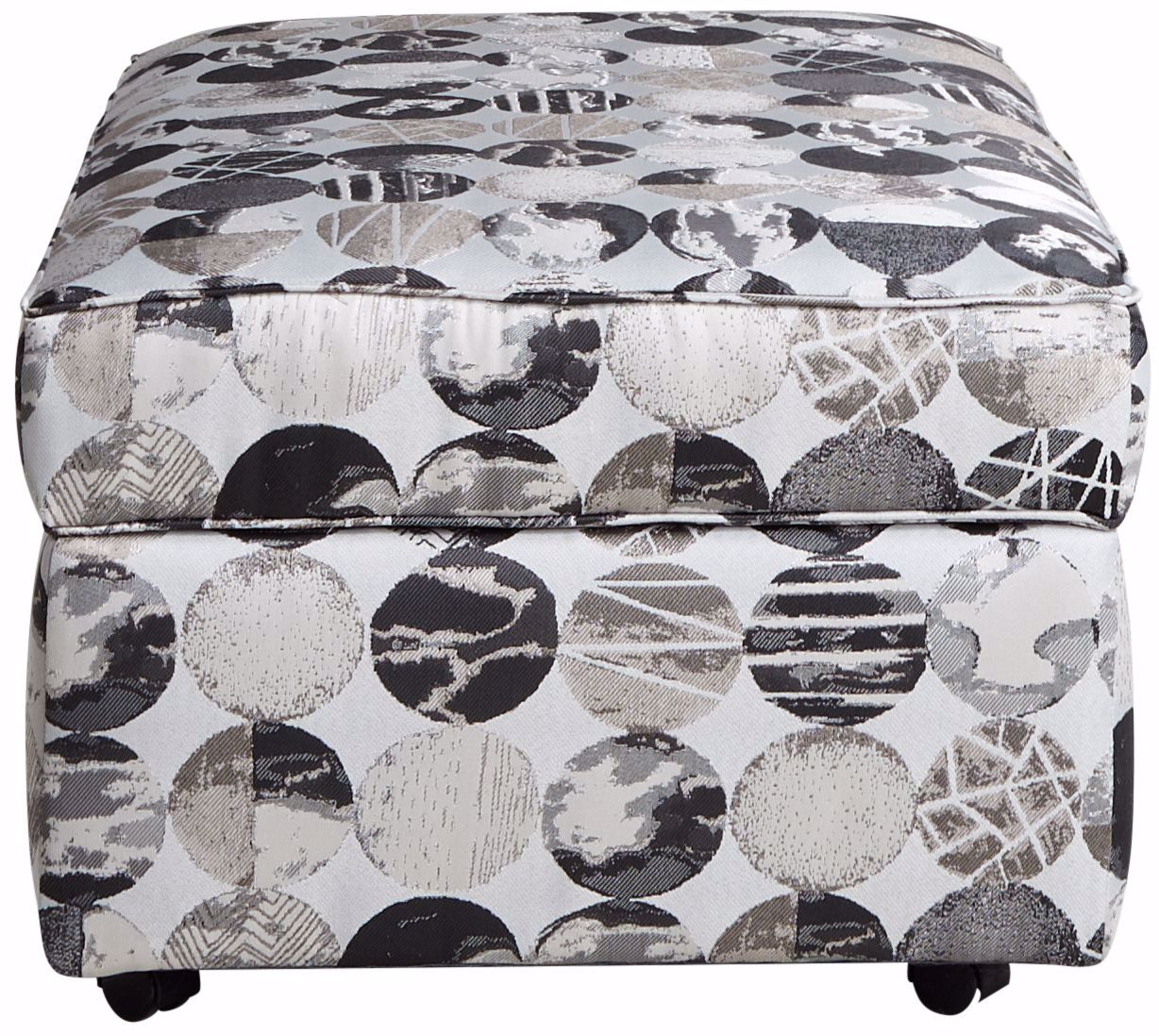 Picture of Bovina Graphite Storage Ottoman