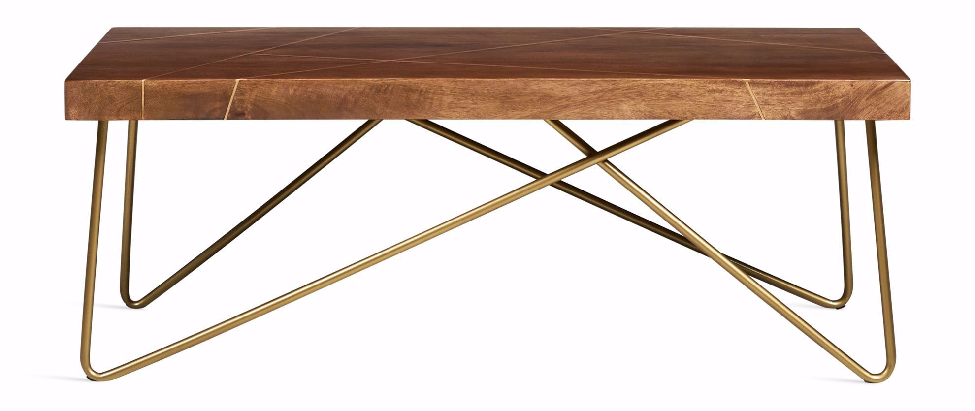 Picture of Walter Brass Inlay Cocktail Table