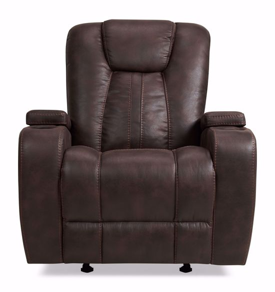 Picture of Mason Brown Glider Recliner