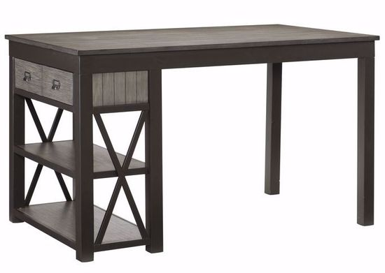 Picture of Luis Counter Table with Two Stools and One Bench