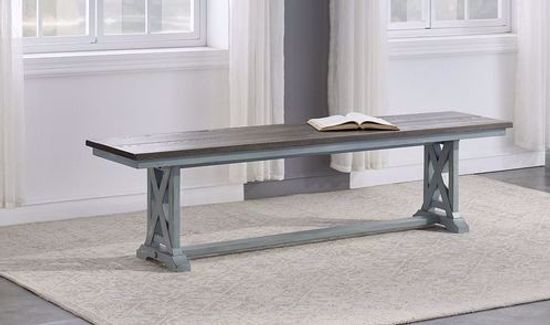 Picture of Bar Harbor Trestle Dining Bench