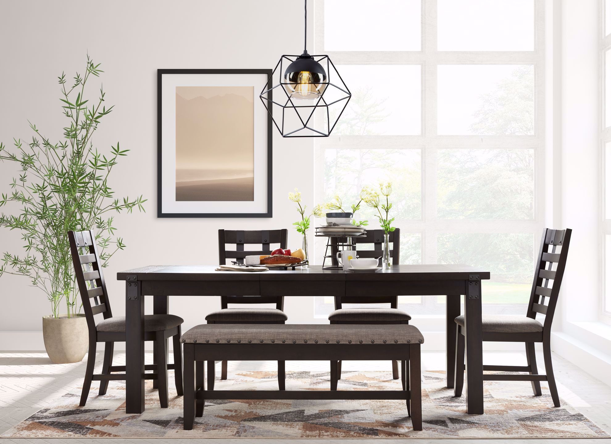 Picture of Astrid Backless Storage Dining Bench