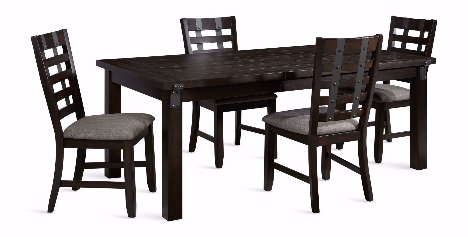 Picture of Astrid Dining Leaf Table with Four Chairs