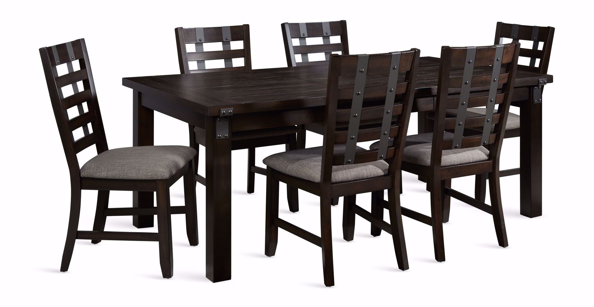 Picture of Astrid Dining Leaf Table with Six Chairs
