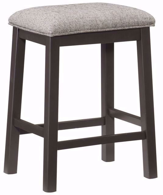 Picture of Elias Backless Upholstered Counter Stool
