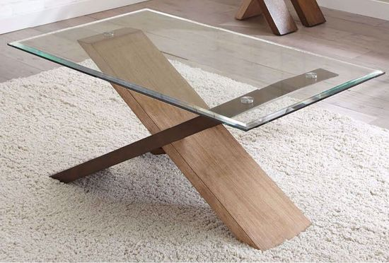 Picture of Tasha Glass Cocktail Table