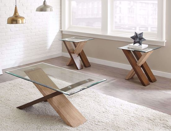 Picture of Tasha Glass End Table