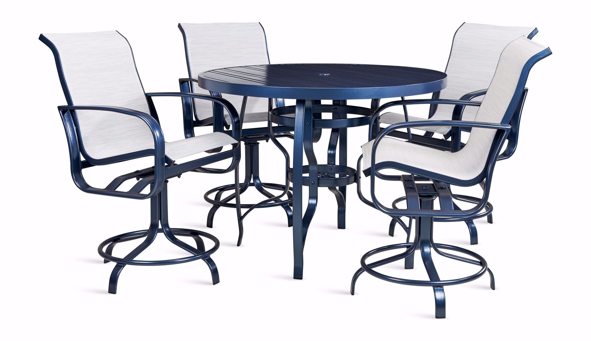 Picture of Cayman Isle Counter Table and 4 Stools