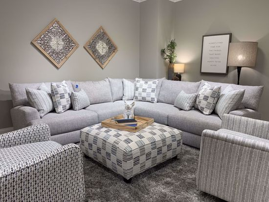 Picture of Entice Paver 4-Piece Sectional