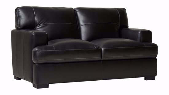 Picture of 3302 Black Loveseat
