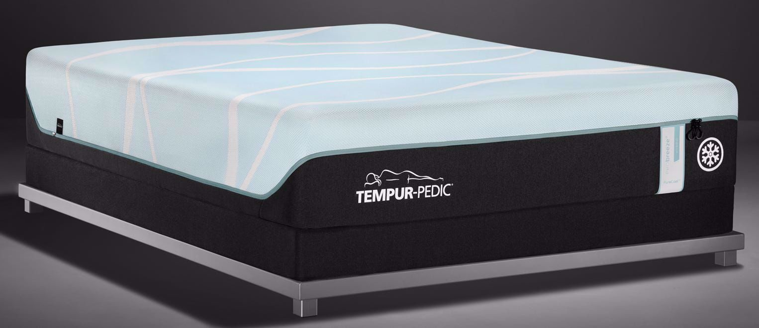 Picture of Tempur-Pedic PRObreeze Medium Hybrid King Mattress Set