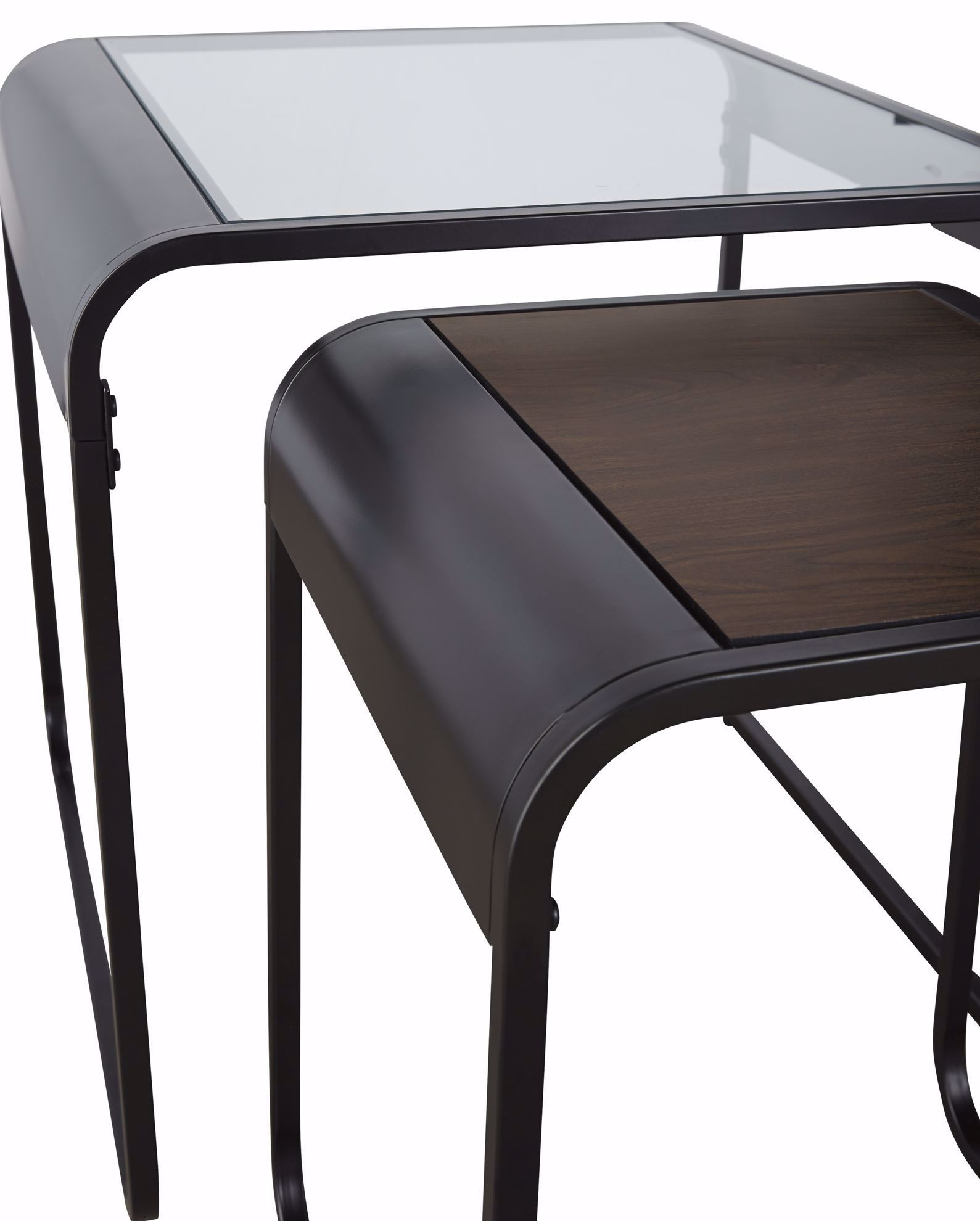 Picture of Larzeny Brown 3PK Tables
