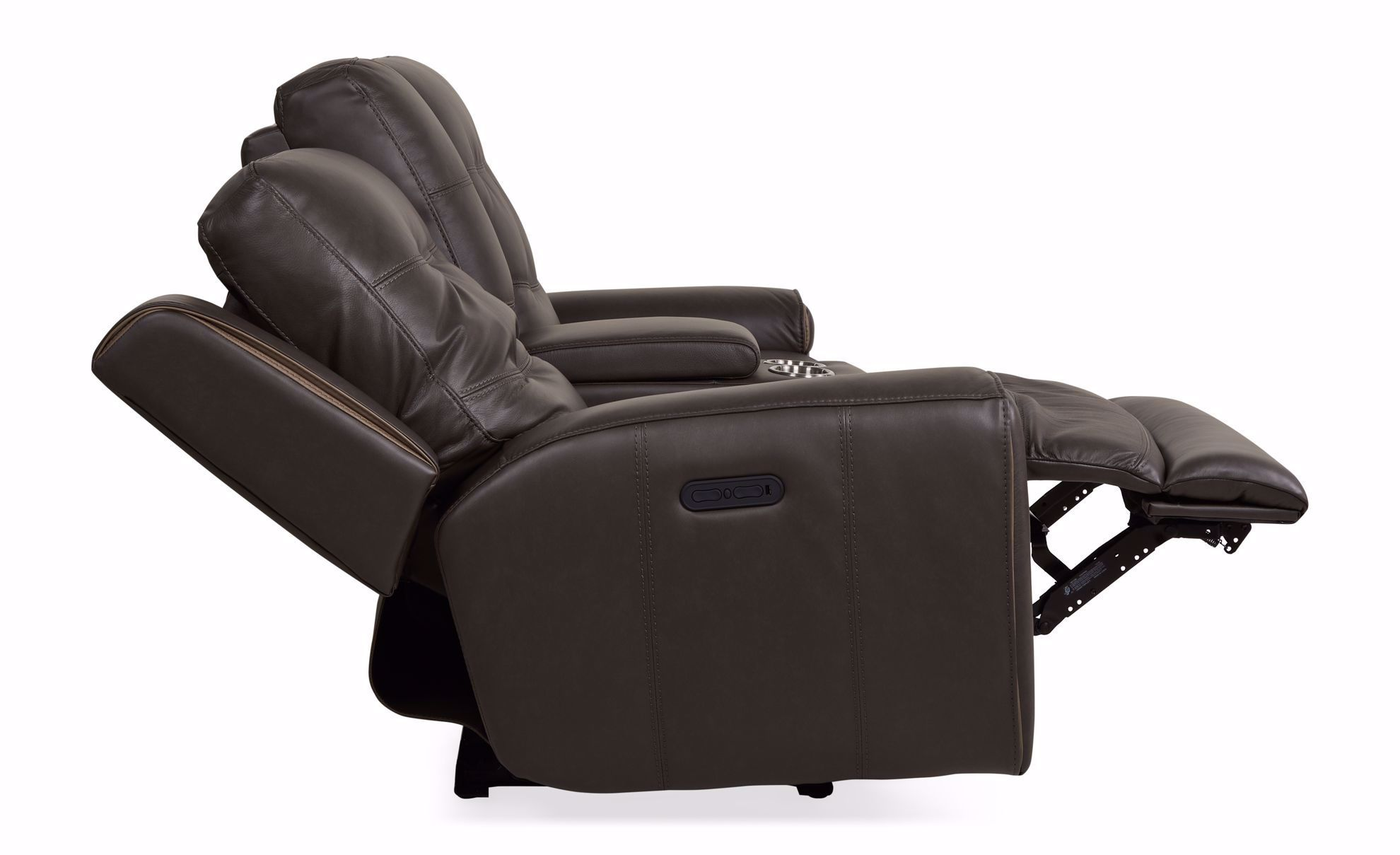 Picture of Wicklow Grey Power Console Loveseat