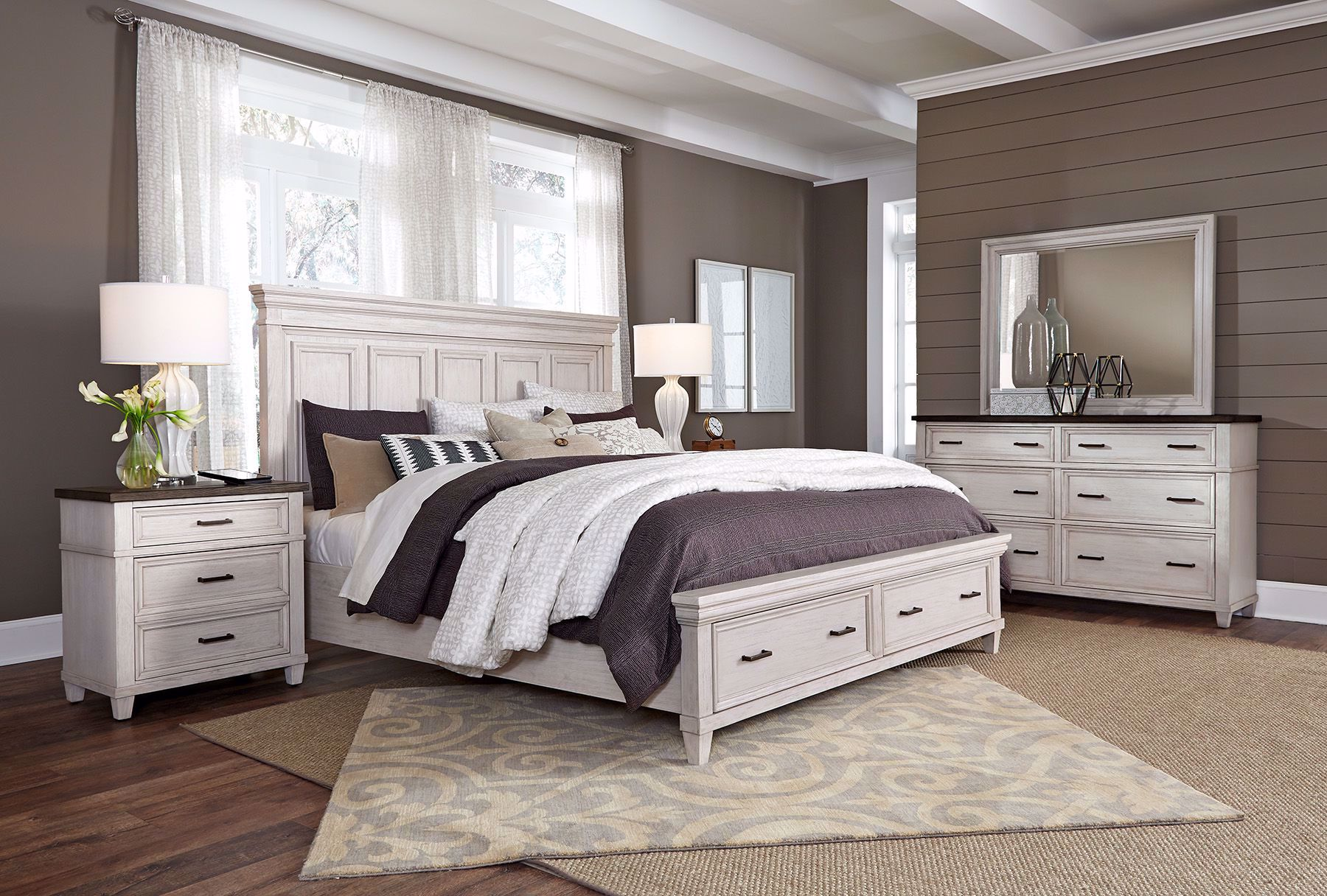 Picture of Caraway Queen Storage Room Set